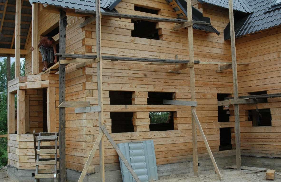 Утепление фасадов деревянных домов своими руками 151